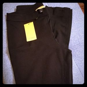 NWT Black viscose dress pants from St. John